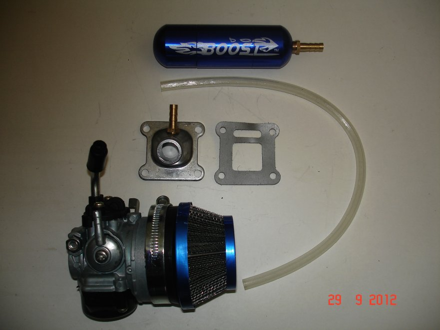 minimoto 15mm carb and boost kit