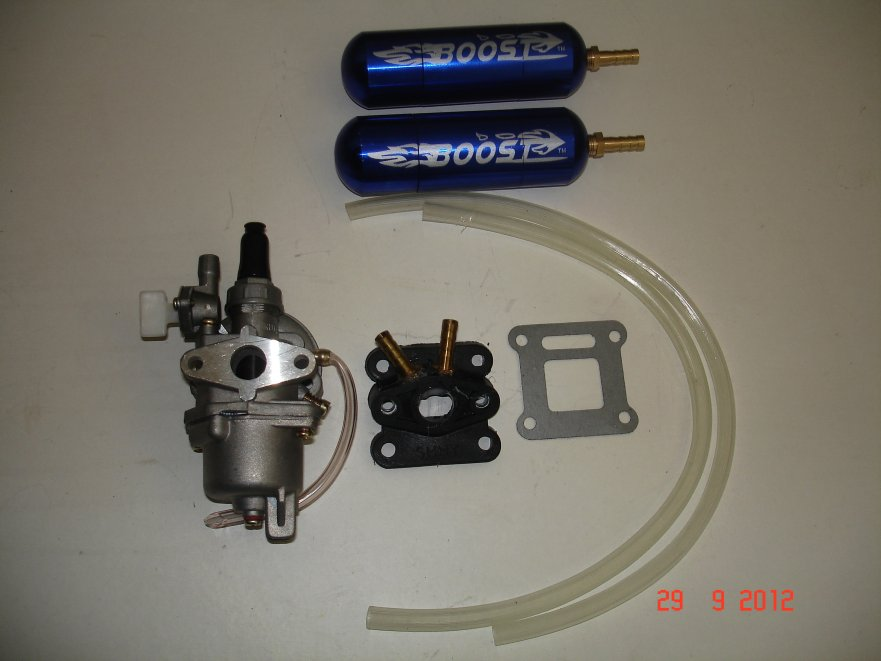 minimoto double boost kit